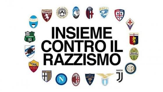 """Razzismo, i club di serie A scendono in campo: """"Non facciamo abbastanza, ora basta"""""""