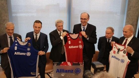 Basket, boccata d'ossigeno per Trieste: Allianz è il nuovo sponsor