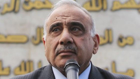 Iraq, Parlamento accetta le dimissioni del premier Mahdi