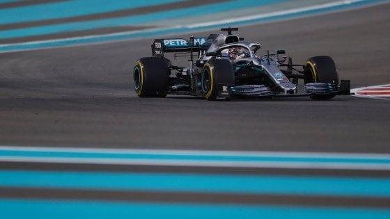 Formula uno, Gp Abu Dhabi: domina Hamilton. Terzo posto per Leclerc