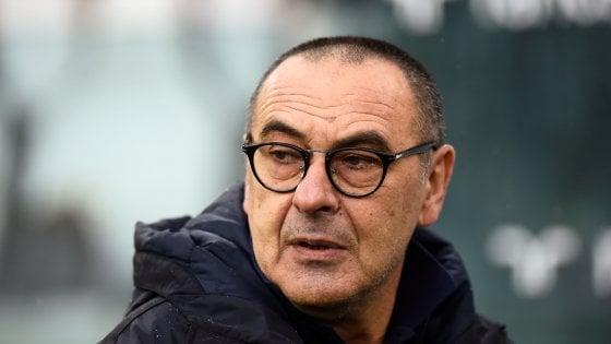 Juventus, Sarri: ''La gara andava gestita meglio, regalato un tempo''