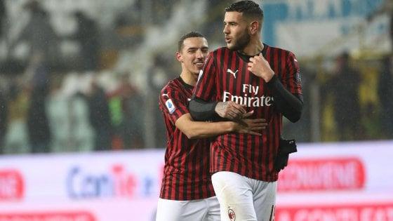 Parma-Milan 0-1, Hernandez fa ripartire i rossoneri