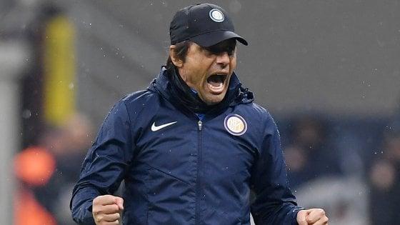 """Inter, Antonio Conte non si accontenta: """"Orgogliosi del primato ma dobbiamo fare di più"""""""
