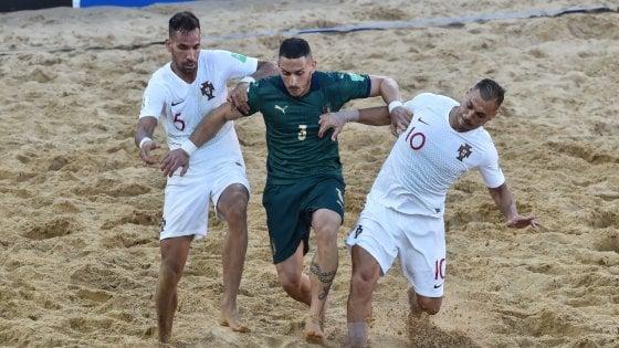 Beach soccer, Mondiali: sfuma il sogno azzurro, Italia sconfitta in finale dal Portogallo