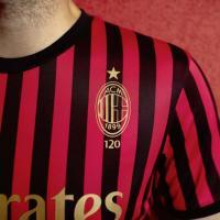 Milan, maglia speciale per i 120 anni