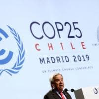 """Cop25, al via la conferenza mondiale sul clima. L'Onu: """"Il mondo deve scegliere tra..."""