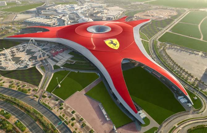 Ferrari World Abu Dhabi, miglior parco a tema del mondo