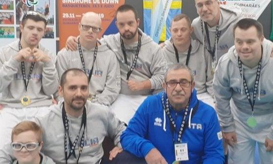 Basket, azzurri con sindrome di Down campioni del mondo