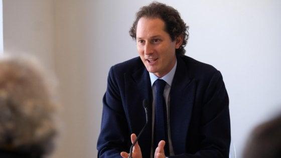 John Elkann, presidente di Exor