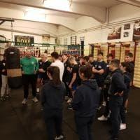 Boxe e scuola, Benvenuti e Blandamura al Pacinotti-Archimede di Roma