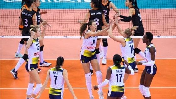 Volley, Mondiale club donne: esordio vincente per Conegliano e Novara