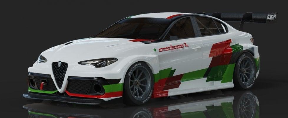 Arriva l'Alfa Romeo Giulia elettrica, e scenderà in pista