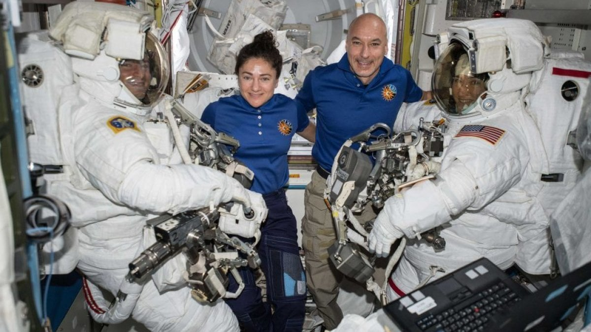 Stoccolma chiama la Stazione spaziale, i Nobel a colloquio con Parmitano e Meyer