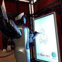 Amico, il robot che disegna la Gioconda