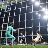 Inter-Roma 0-0: Mirante salva, Lautaro spreca. E i nerazzurri frenano