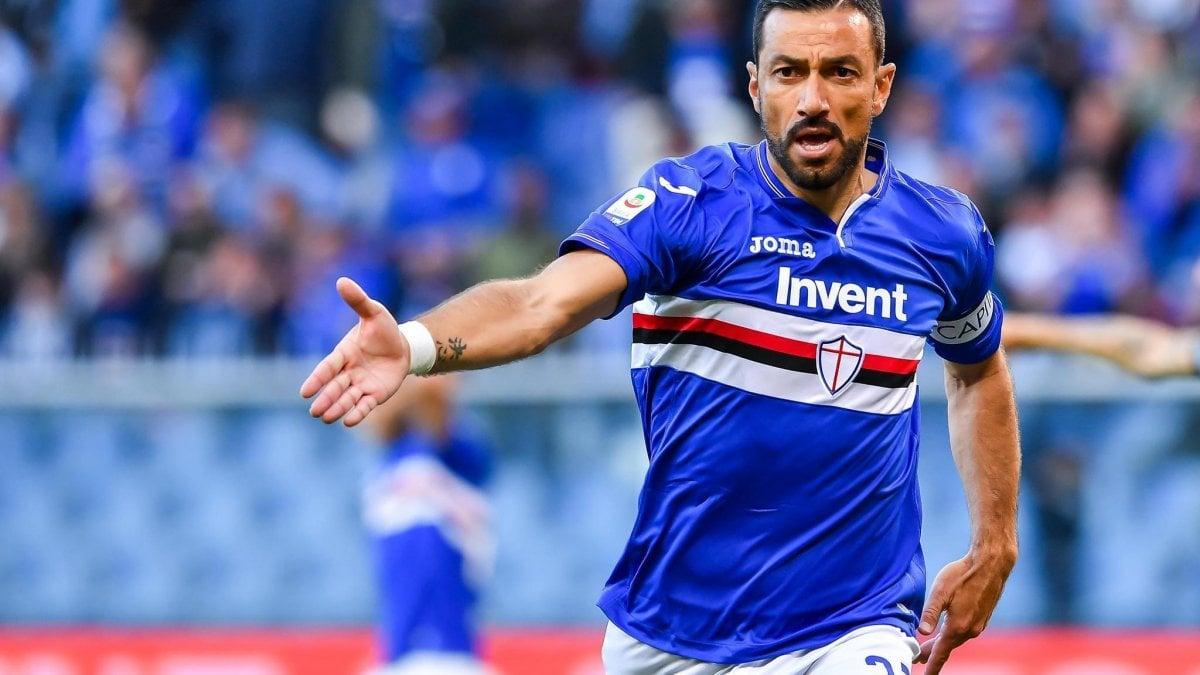 Sampdoria, Quagliarella rinnova. Ranieri: ''Ora sarà più tranquillo''