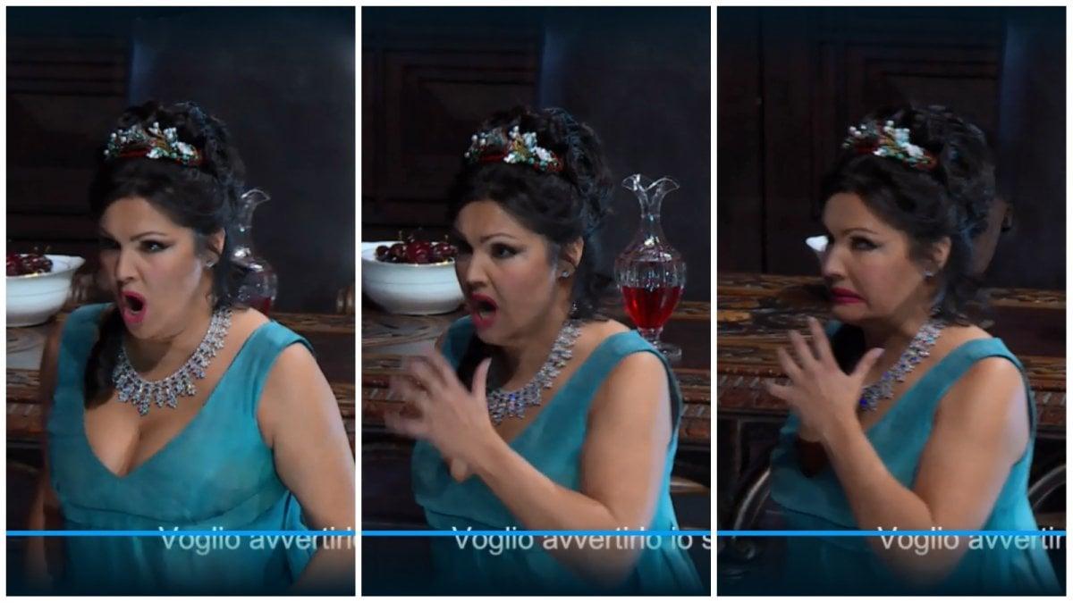 Tosca, la classe di Netrebko e Salsi dopo l'errore della soprano alla Scala