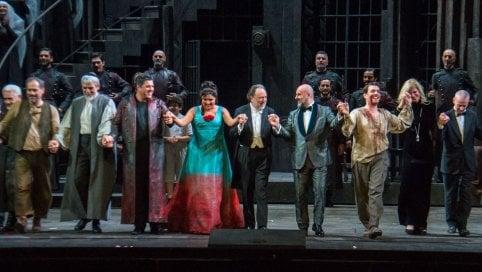 Scala, record Tosca: oltre 2,85 milioni in tv