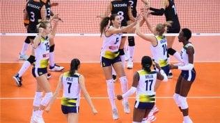 Volley, donne: Egonu affonda lEczacibasi, Conegliano campione del mondo