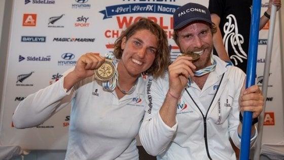 Vela Olimpica, titolo mondiale alla coppia Bissaro-Frascari nel golfo di Hauraki