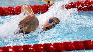 Nuoto, Europei vasca corta: è ancora Quadarella, oro nei 400 stile libero
