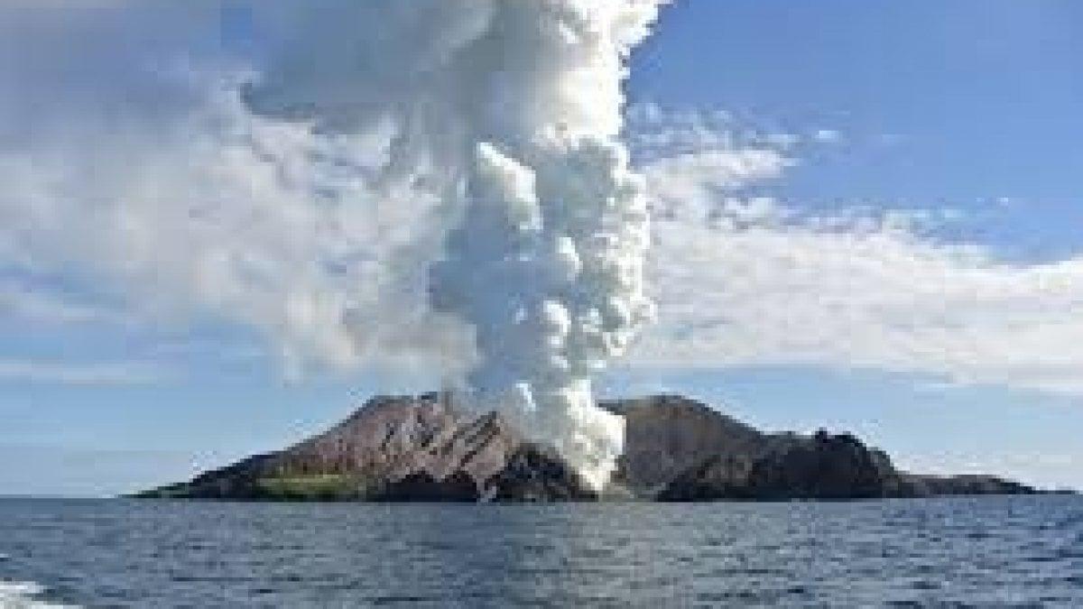 """Nuova Zelanda, vulcano in eruzione sorprende gruppo di turisti. Le autorità: """"Non ci sono segni di vita sull'isola"""""""