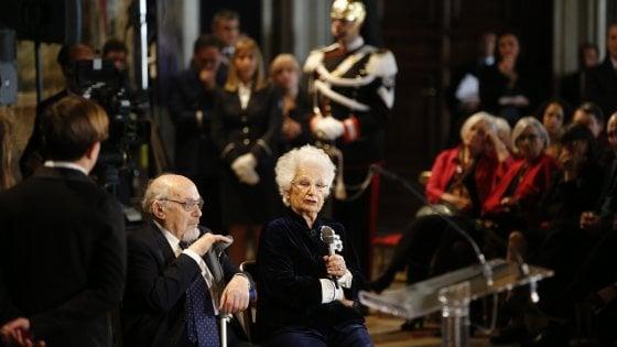 """Liliana Segre: """"Temo che senza me e Terracina la memoria dell'Olocausto finirà"""""""