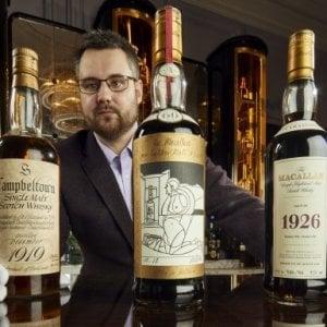Whisky, all'asta una collezione privata da capogiro: attesa una bottiglia da 2 milioni