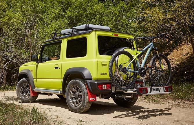 Suzuki Jimny, una diversa dall'altra