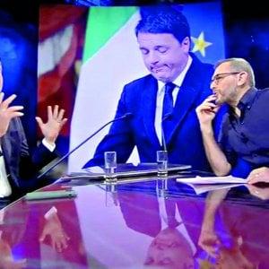 """Il tweet di Renzi su Corrado Formigli: """"Sui giornali invocano la privacy solo per i loro amici. E' doppia morale"""""""