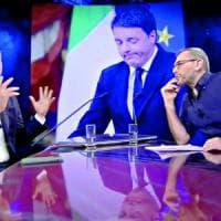 """Il tweet di Renzi su Corrado Formigli: """"Sui giornali invocano la privacy solo per i loro..."""