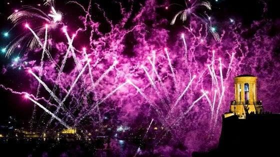 A Capodanno, Malta si illumina di colori