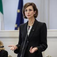 """Consulta, eletta presidente Marta Cartabia: prima volta per una donna: """"Ho rotto un..."""