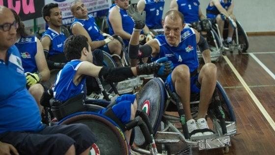 """Davide Giozet: """"Il rugby in carrozzina è uno strumento di inclusione potentissimo"""""""
