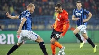 Champions in diretta: Shakhtar-Atalanta 0-0