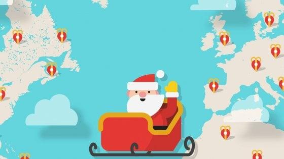 Babbo Natale Mappa.Cosi Tanti Bambini Scoprono Su Google Che Babbo Natale Non Esiste La Repubblica