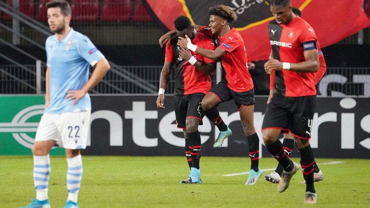 Rennes-Lazio 2-0: doppio Gnagnon, biancocelesti eliminati