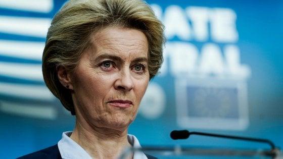 """Clima, il vertice Ue adotta le conclusioni. Von der Leyen: """"E' stato un successo"""""""