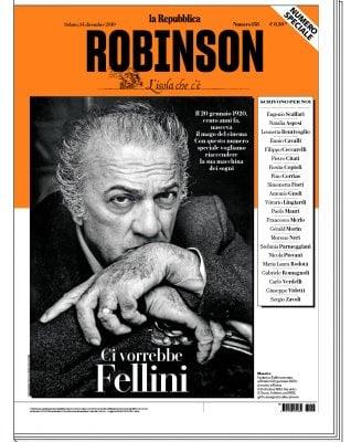 Robinson tutto sul mago Fellini