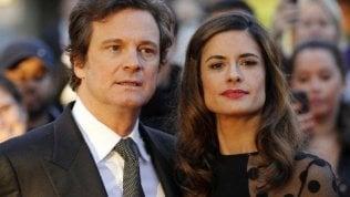 Colin Firth e la moglie italiana si separano. Due anni fa lei ammise una relazione con un giornalista