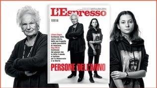 Liliana Segre e i simboli delle speranze del 2019 su L'Espresso