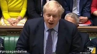 Su La7 l'audio inedito che spiega la vittoria di Boris Johnson