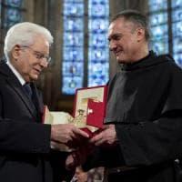 """Assisi, a Mattarella la Lampada della Pace: """"Un riconoscimento all'Italia"""""""