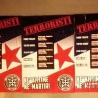 Trieste, manifesti di Casapound contro la commemorazione di cinque antifascisti fucilati...