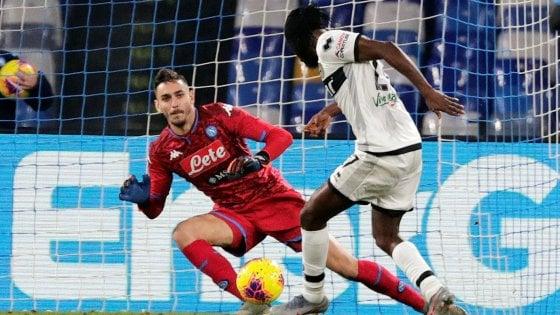 Napoli-Parma 1-2: esordio shock per Gattuso, Kulusevski e Gervinho piegano gli azzurri