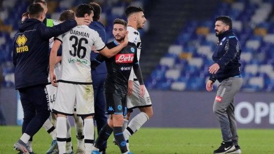 Napoli Gattuso Primi Minuti Una Sciagura Umana Cosi Non Va