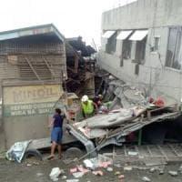 Filippine, terremoto colpisce il Sud: tra i 4 morti una bambina di sei anni. Nessuna...