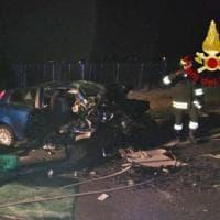 Incidenti, sabato di sangue sulle strade italiane: morti cinque giovani