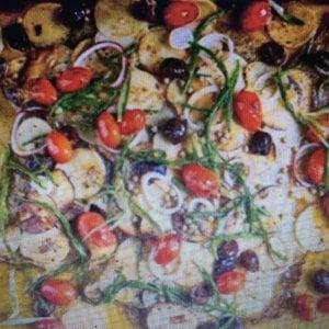 Natale a tavola con Francesco Mazzei: ecco il suo rombo al forno