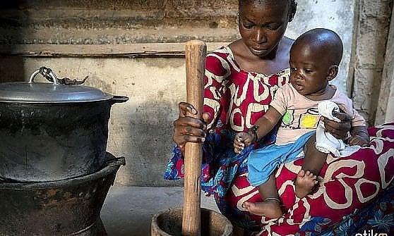 Una foto del Senegal di Mauro Pagnano